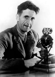 George Orwell. Imagem: Divulgação/Wikemedia Commons Orwell, George (eigentl. Eric Arthur Blair), engl. Schriftsteller, Motihari (Indien) 25.1.1903 - London 21.1.1950. Foto, um 1945.