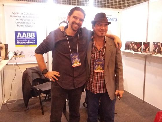 Da esquerda para direita: Sidney Nicéias e Carlos Sierra.