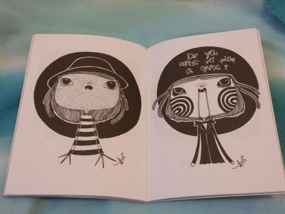 Da esquerda para a direita: Freddy Krueger e Jigsaw. Foto: Bárbara Valdez