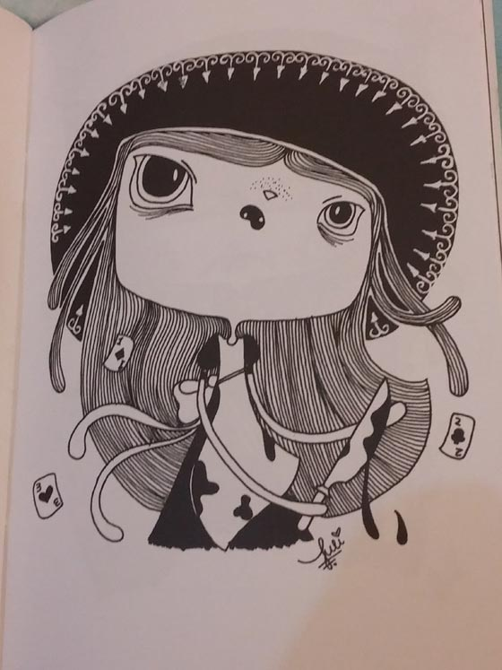Personagem de Alice. Foto: Bárbara Valdez